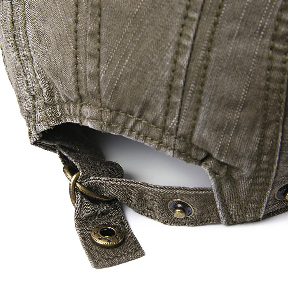 Men Women Cotton Adjustable Painter Berets Caps