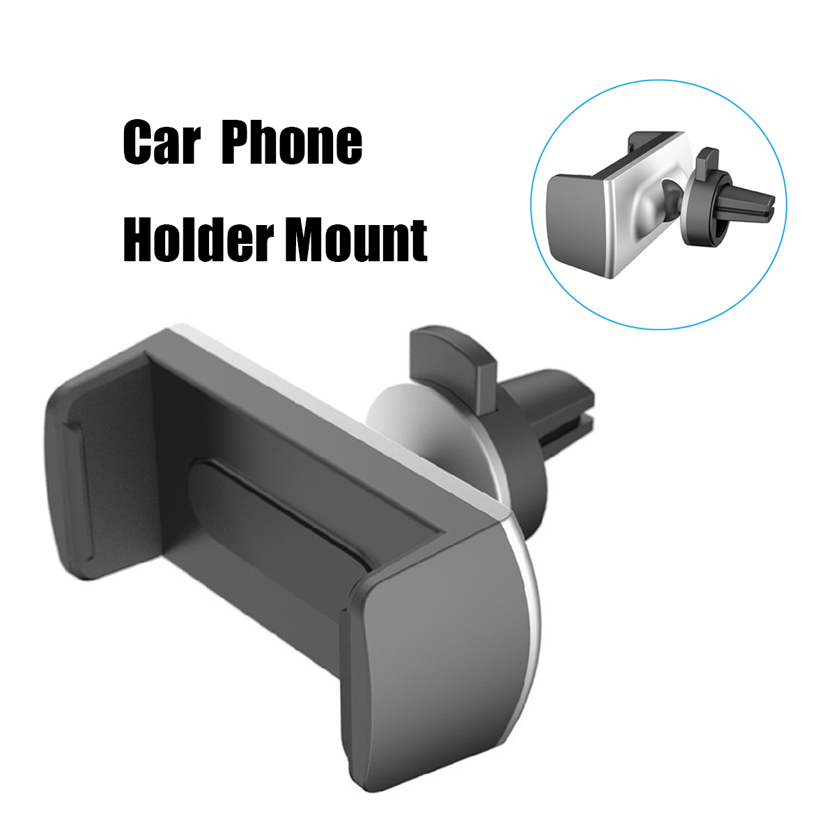 Alightstone Car Air Vent Holder Mount Phone Clip Outlet Bracket Stand for iPhone X 8 Samsung S8