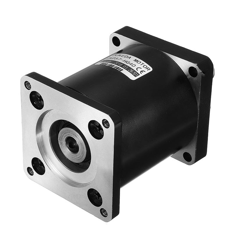57mm Nema 23 Planetary Reduction Gear Motor Ratio 4:1 5:1 10:1 15:1 20:1 25:1 30:1 40:1 50:1 100:1