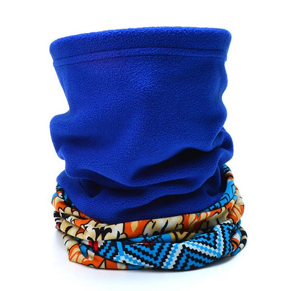 Women Warm Thicken Fleece Outdoor Collar Scarf