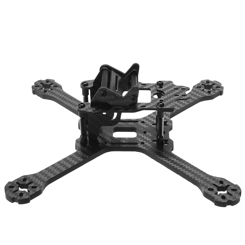 Realacc Kylin 210 210mm Wheelbase 5mm Arm Carbon Fiber FPV Racing Frame Kit with 5V 12V PDB Board