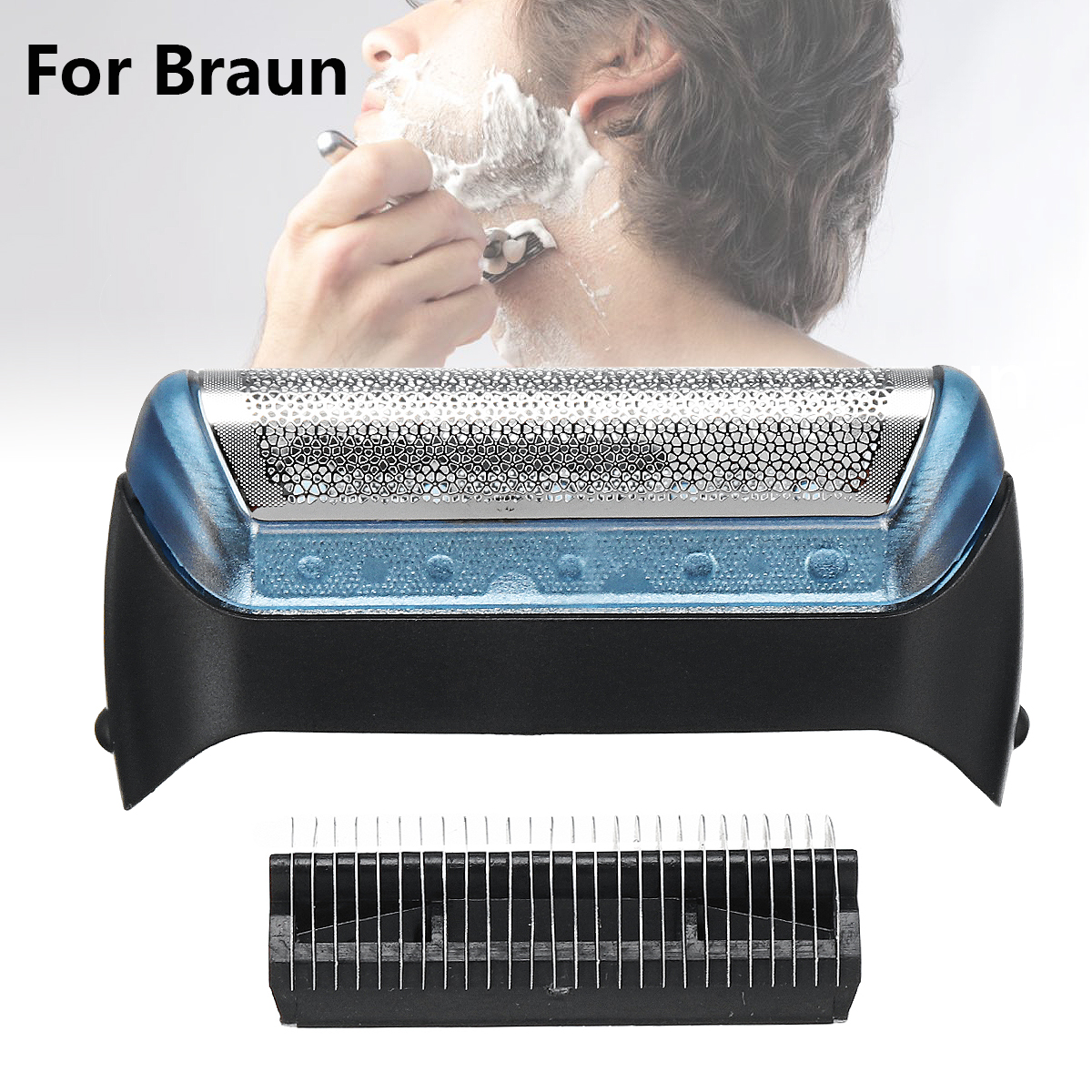Shaver Foil Blade Replacement for BRAUN 10B/20B/20S