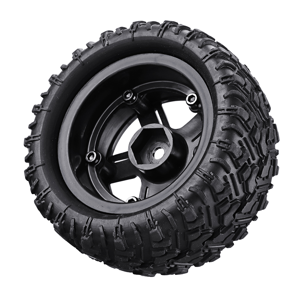 Remo P6973 Rubber RC Car Tires For 1621 1625 1631 1635 1651 1655 RC Vehicle Models - Photo: 5