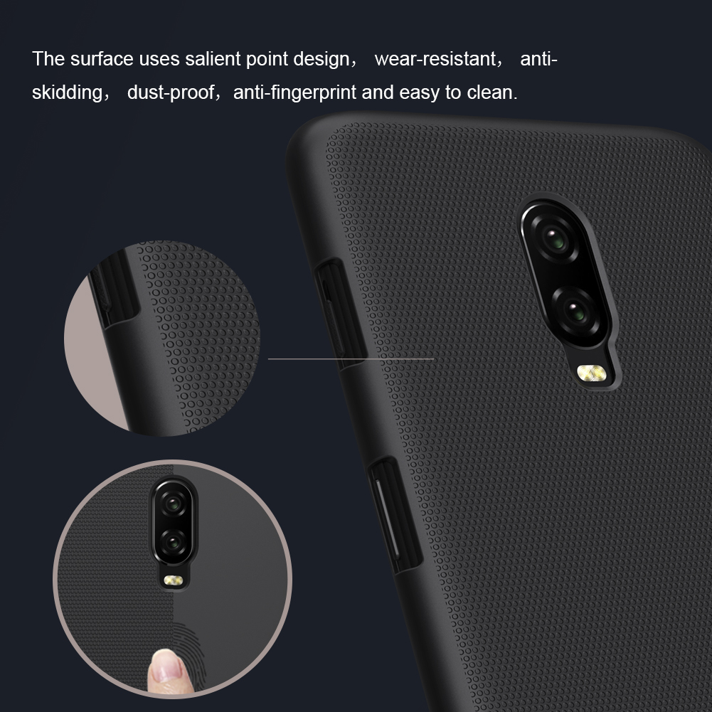 NILLKIN Frosted Ultra Thin Shockproof Hard PC Back Cover Protective Case for OnePlus 6T