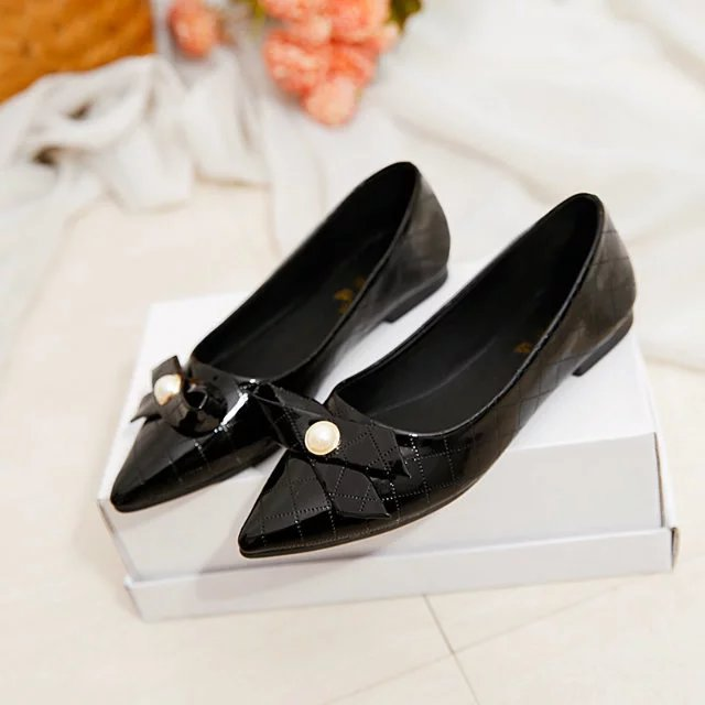 Pointed Toe Casual Ballet Slip On Flats