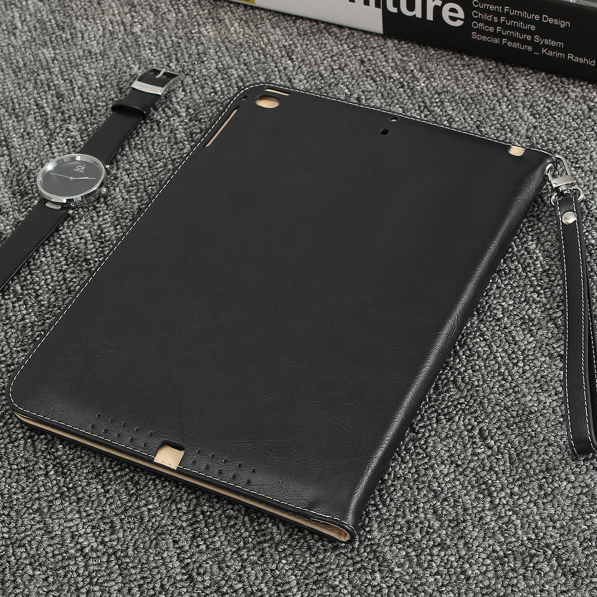 Leather Card Slots Folio Flip Stand Holder Tablet Cover Case for iPad Air