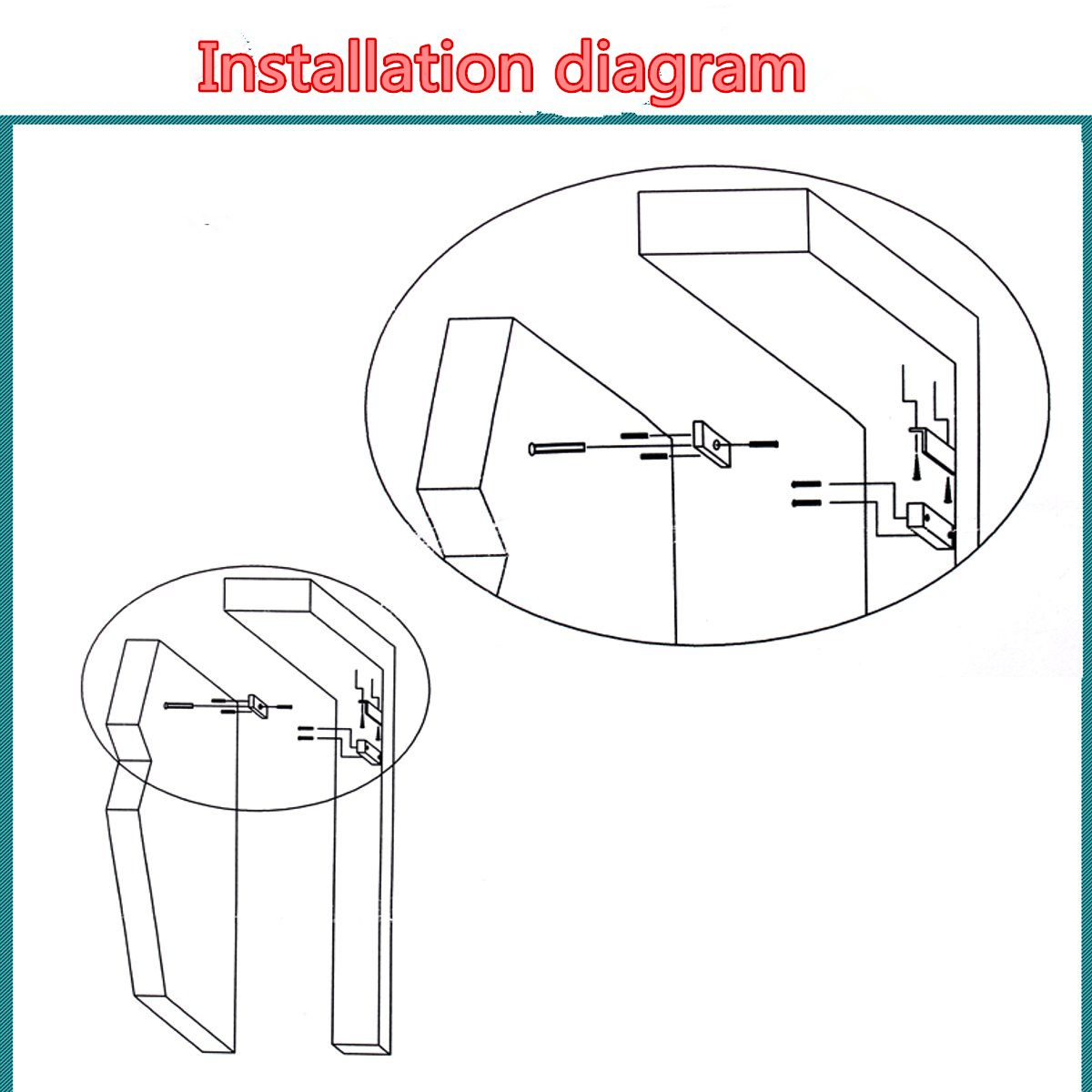 dc 12v 60kg visible installation door cabinet magnetic lock access Drone Circuit Wiring Diagram shipping methods