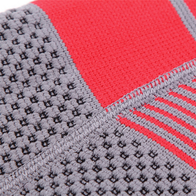 BIKIGHT S02 Cycling Protective Pad Three - Dimensional Weaving Silica Gel Red Black Elbow Pads
