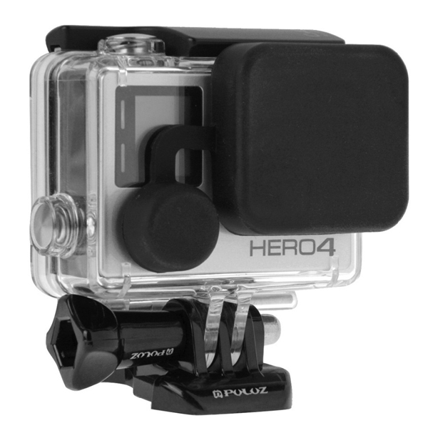 PULUZ Protective Camera Lens Housing Case Cover for Gopro Hero 4 3 Plus 3
