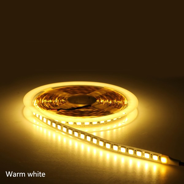5M 5054 Pure White Warm White Red Green Blue Pink Ice Blue Non-waterproof 600LEDs Strip Light DC12V