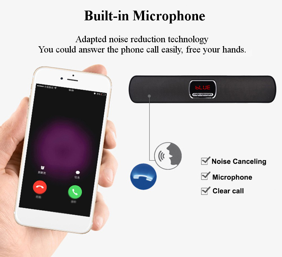 S605 Four Audio Unit U Dick TF Card AUX-in FM Radio Mic Bluetooth Speaker With Phone Tablet Holder