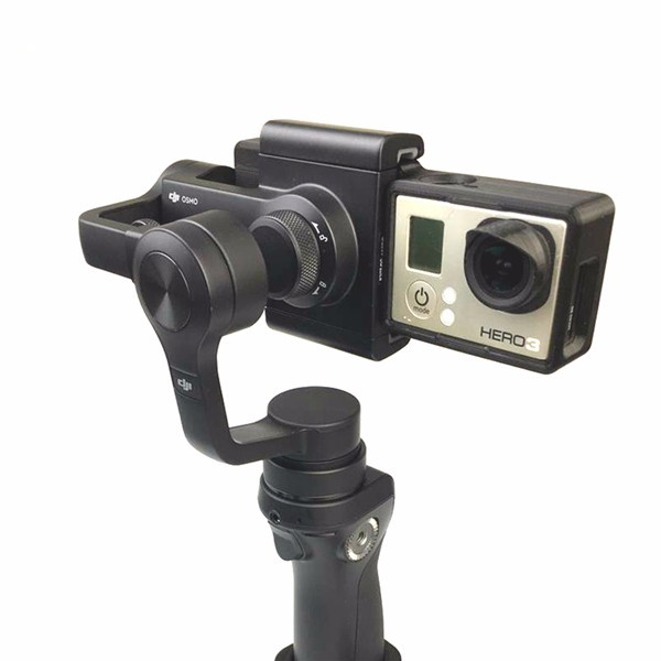 Adapter for DJI OSMO Mobile Gimbal Transfer to Gopro Hero 3/3+/4