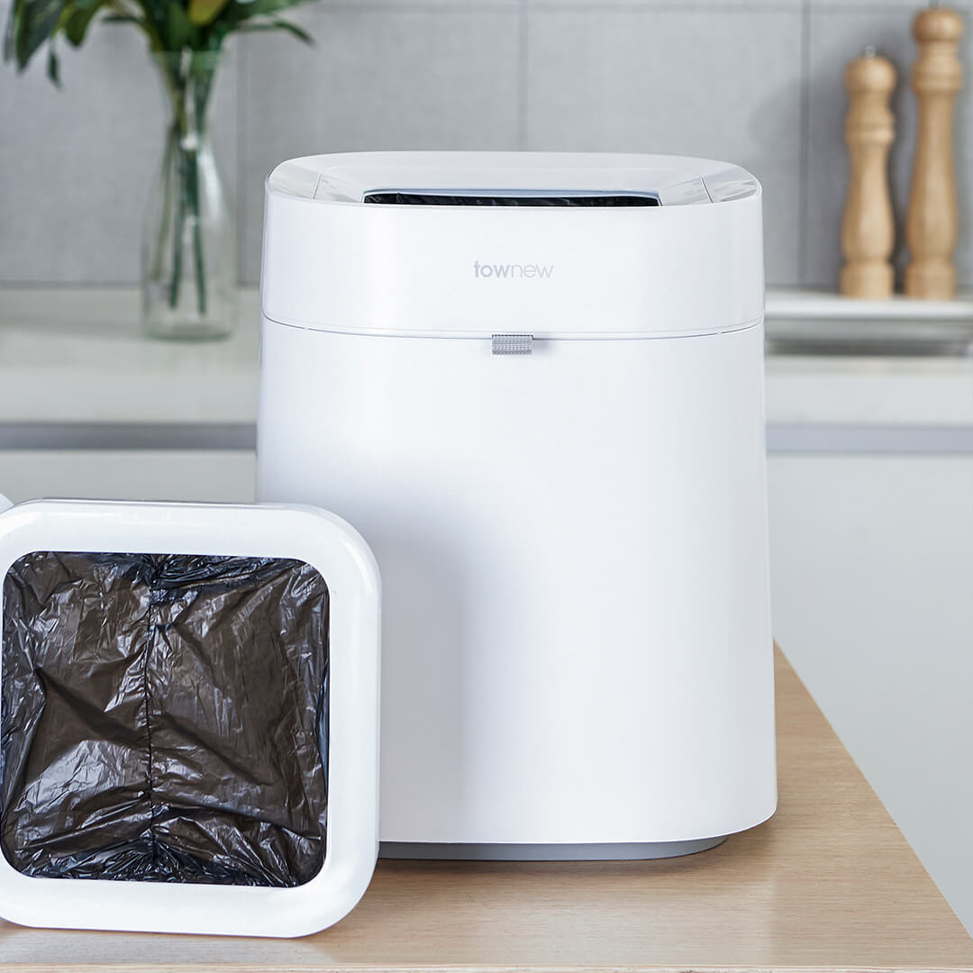 Townew T Air Smart Trash Can Waste Bins Automatic Sealing Mute Mintpass Rubbish from Xiaomi youpin