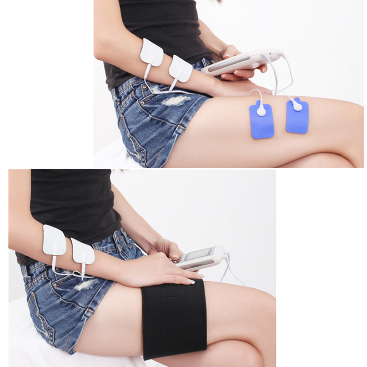 3 in 1 TENS Unit Muscle Stimulator EMS Muscle Massager Pain