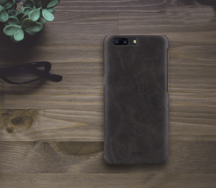 MOFI PU Leather&PC Protective Back Case For OnePlus5