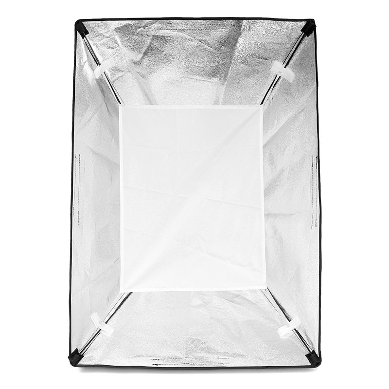 Photography Photo Studio Lighting 4 Socket Lamp Holder with 50x70CM Softbox Soft Box