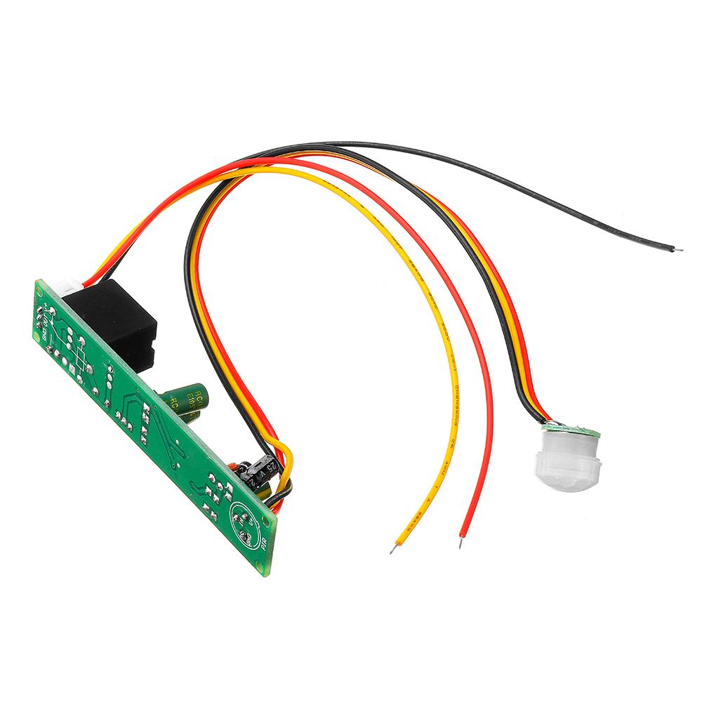 DC 12V 5A IR Pyroelectric Infrared PIR Motion Sensor Detector Light Module