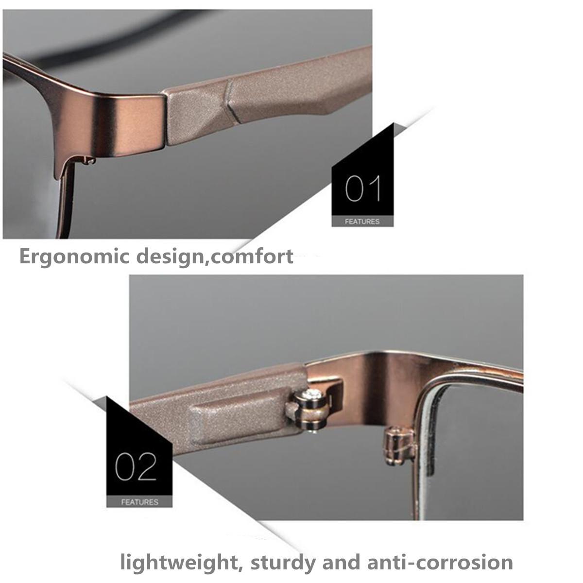 Metal Full Rim Eyeglasses Frame Glasses Optical Rx Glasses