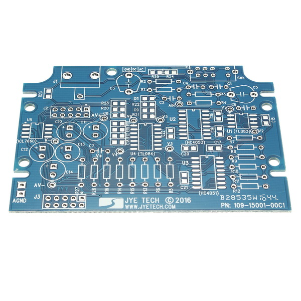 Original JYETech DSO-SHELL DSO150 15002K DIY Digital Oscilloscope Unassembled Kit SMD Unsoldered With Housing