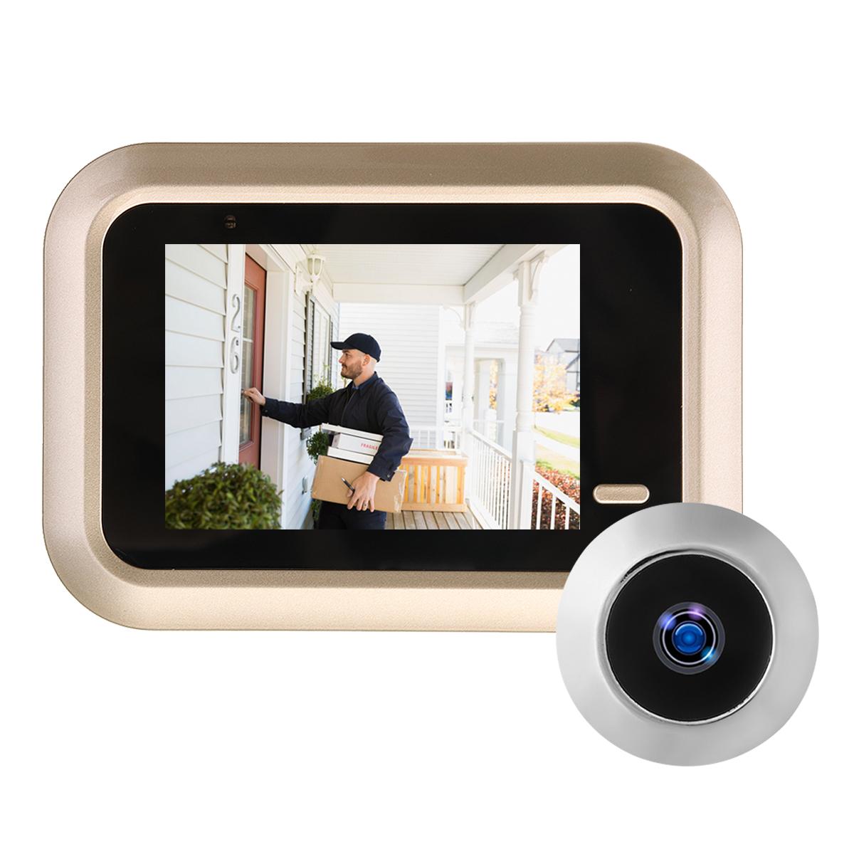 2.4 Inch LCD Digital Video Doorbell Viewer Peephole Security Door Eye Monitoring Camera