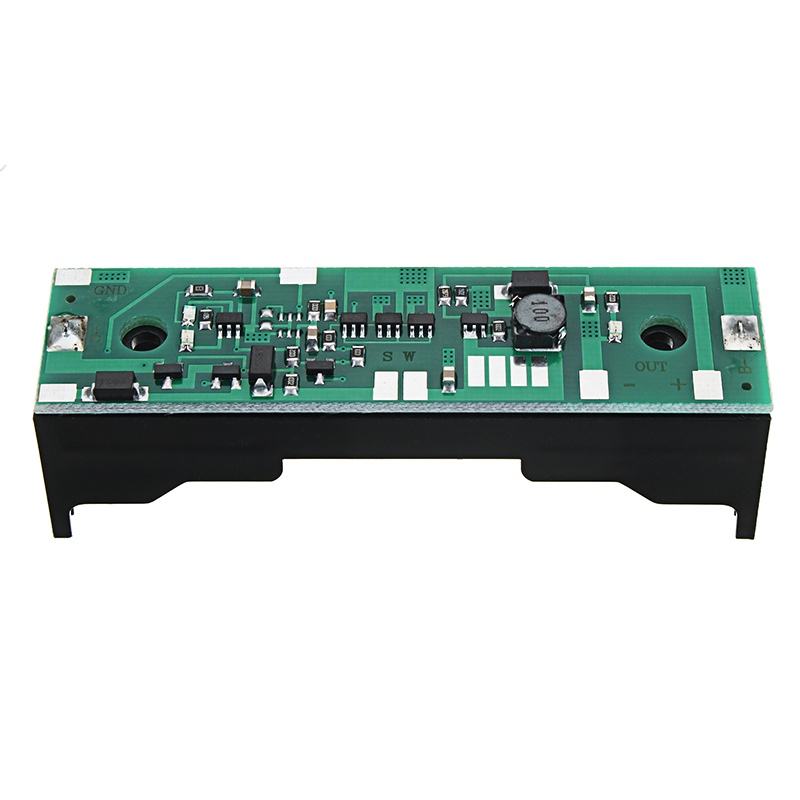 12V Output Charging UPS Uninterrupted Protection Integrated Board 18650 Lithium Battery Boost Module With Case