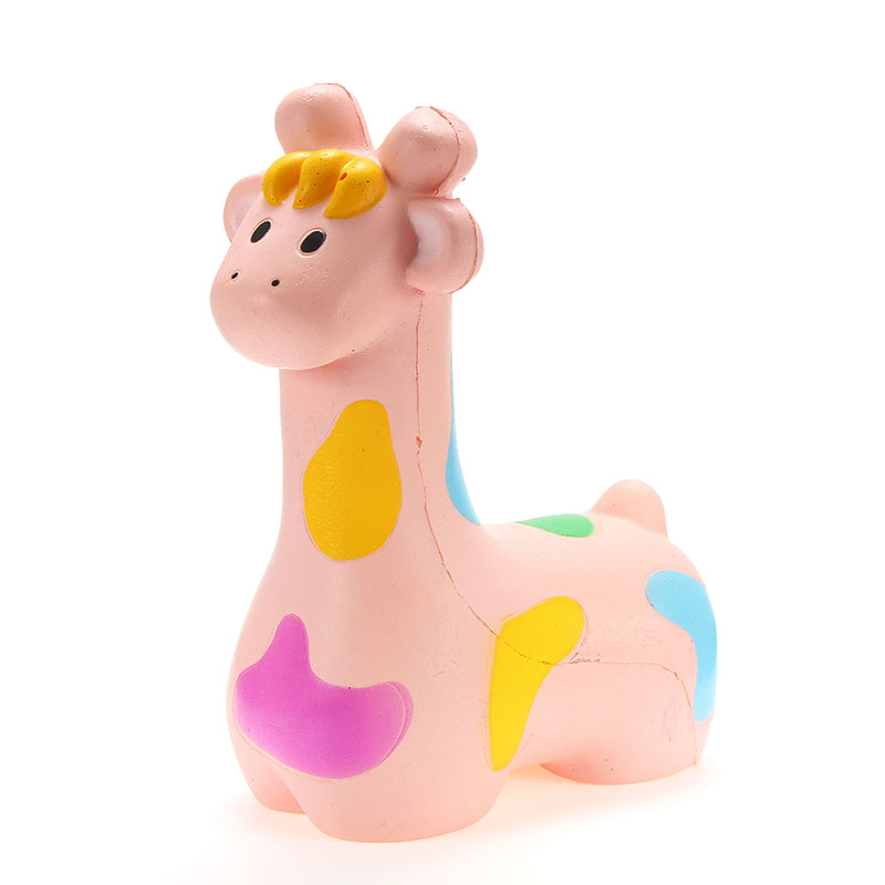NO NO Squishy Giraffe Jumbo 20cm Slow Rising With Packaging Collection Gift Decor Soft Squeeze Toy