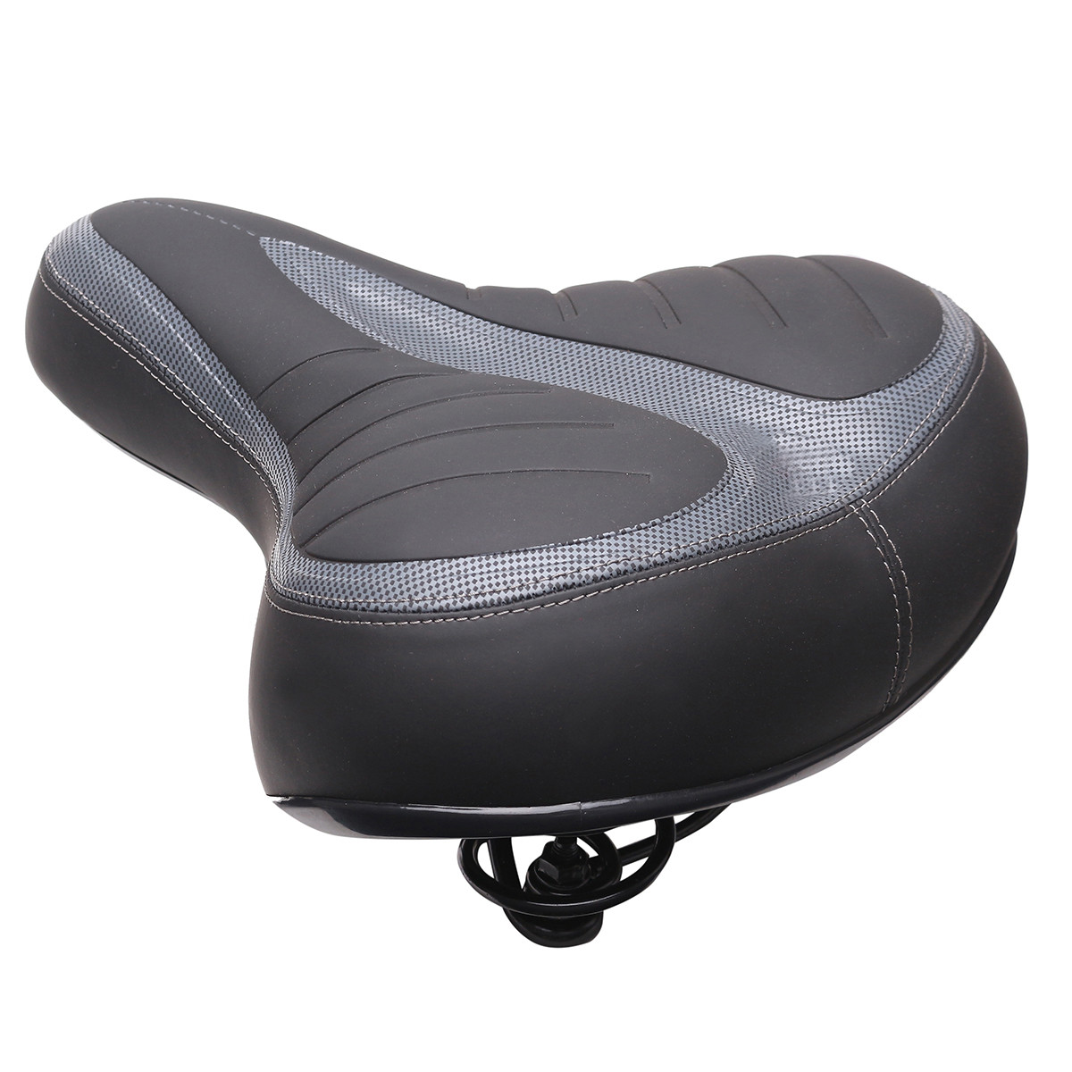 BIKIGHT Wide Big Bum Bike Gel Cruiser Extra Comfort Sporty Soft Pad Saddle Seat