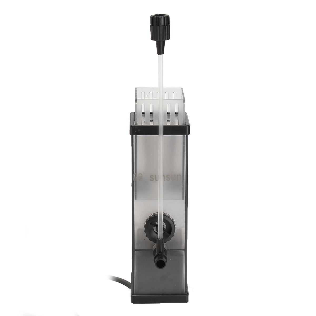 SUNSUN 5W 300L/H Surface Skimmer Aquarium Filter 450 L Pump Plant Freswater Marine Oil