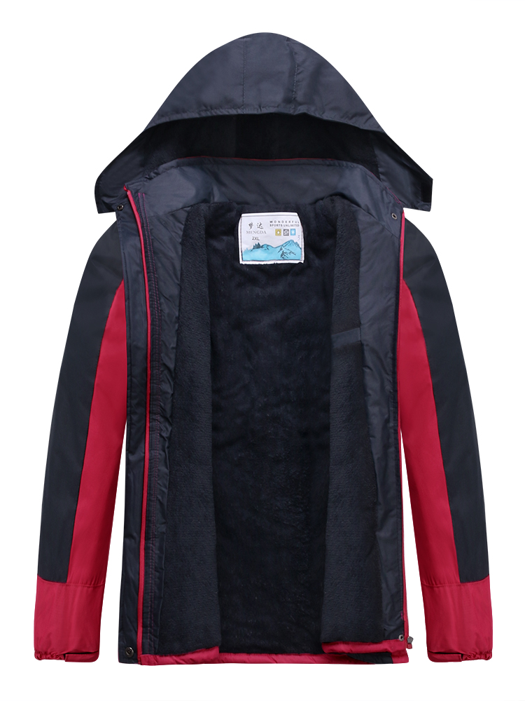 Women Outdoor Waterproof Windproof Warm Casual Sport Jackets