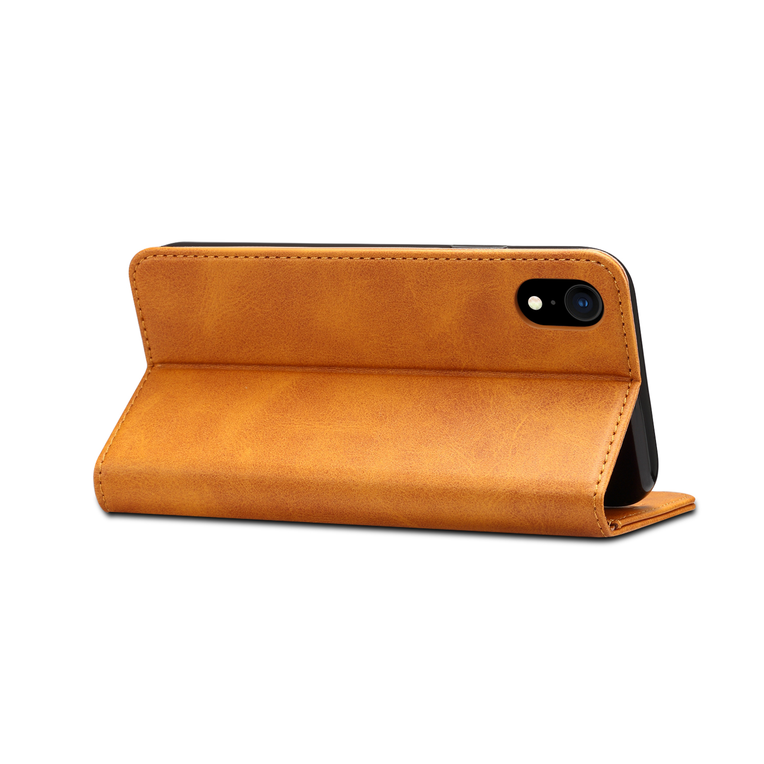 Bakeey Protective Case For iPhone XR Magnetic Flip Wallet Card Slot Cash Pocket Full Body Cover