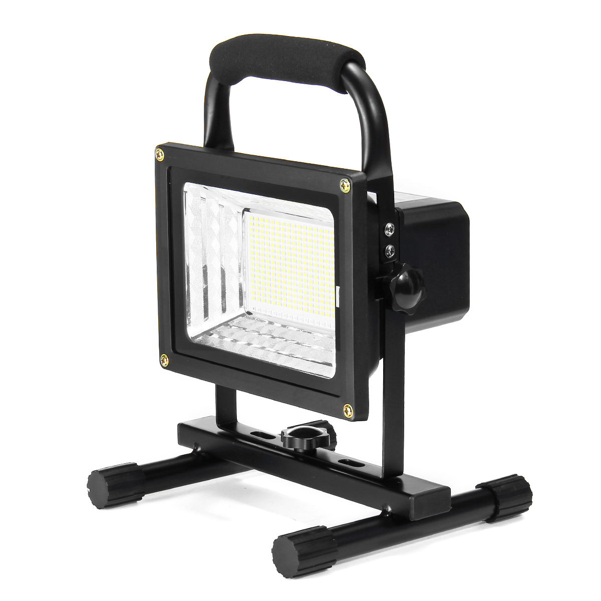 900W 256 LED Portable Rechargeable Flood Spot Light Lawn Work Camping Flash Lamp Outdoor