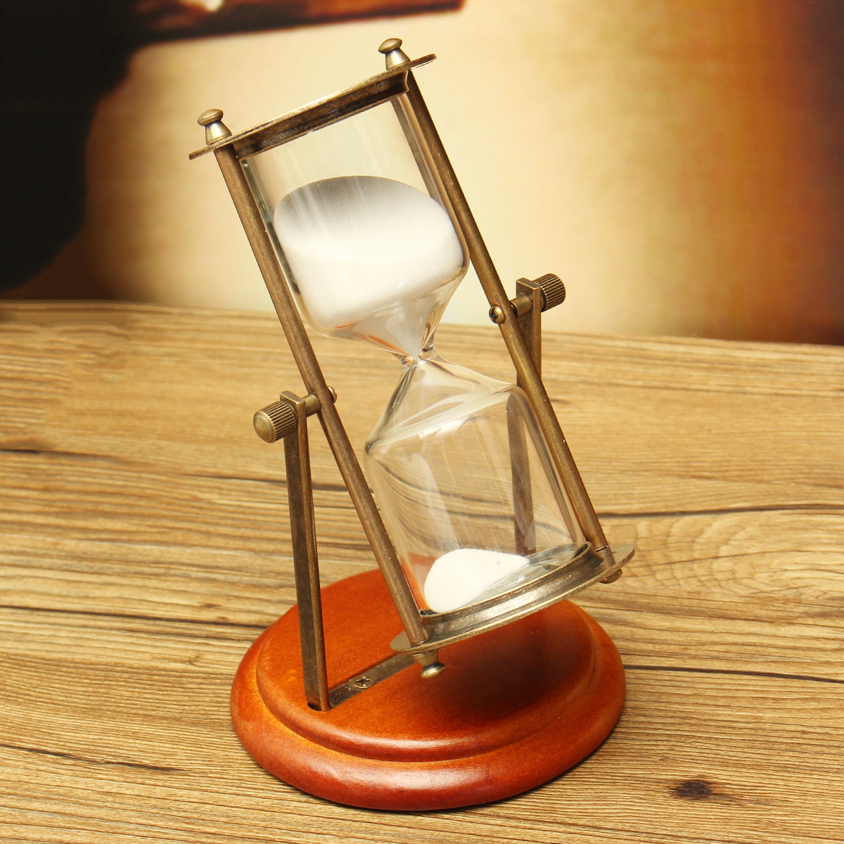 15 Minutes Rolating Hourglass Sandglass Sand Clock Timer Table Home Decoration Desktop Ornament