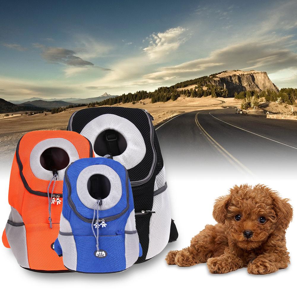 Djur ryggsäck bärare hundväskor Andas utomhus ryggsäck hund bärare ryggsäck  husdjur hund väska 6df8154cd0200