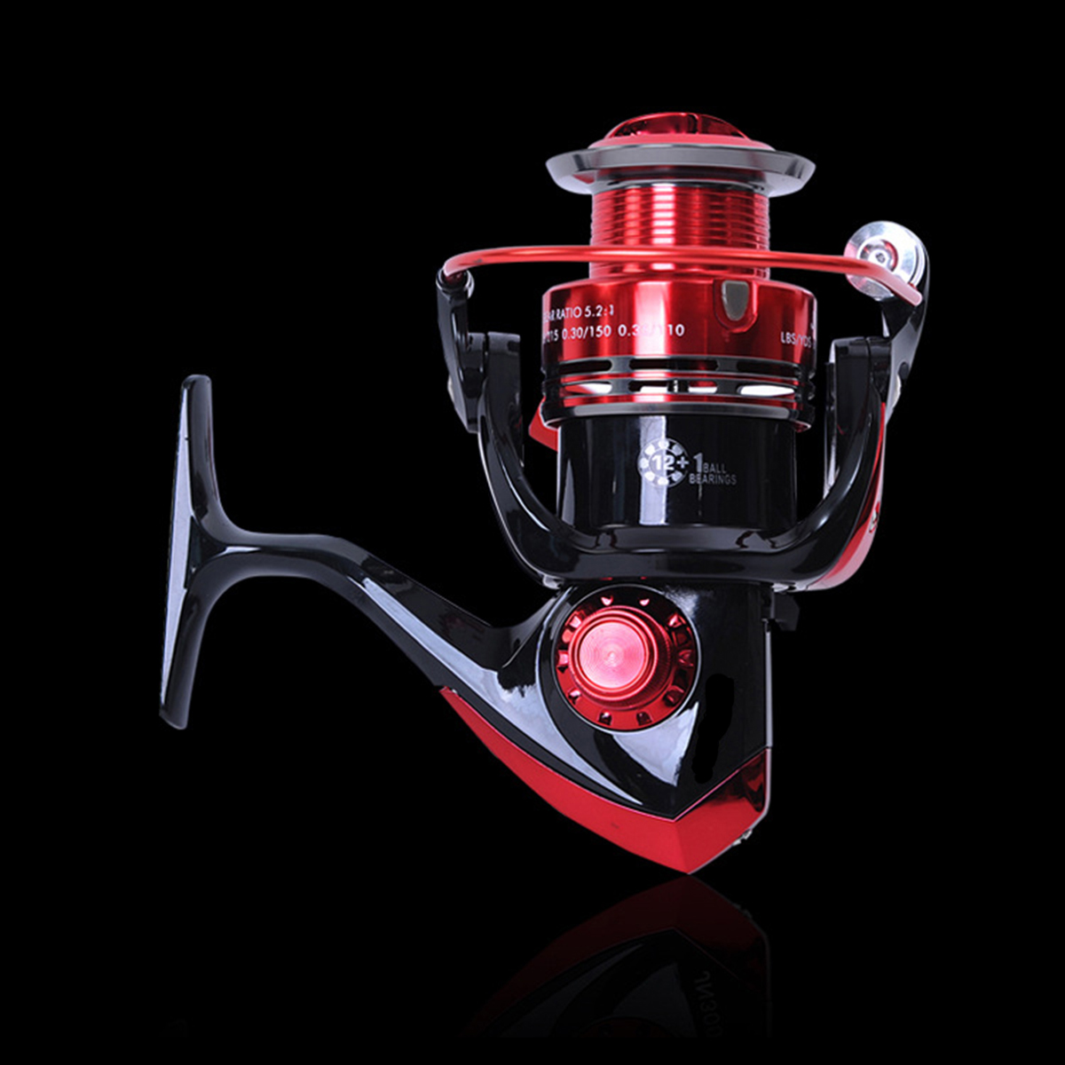 ZANLURE JM1000 12+1BB 5.2:1 Spinning Fishing Reel Right/Left Interchangeable Saltwater Reel