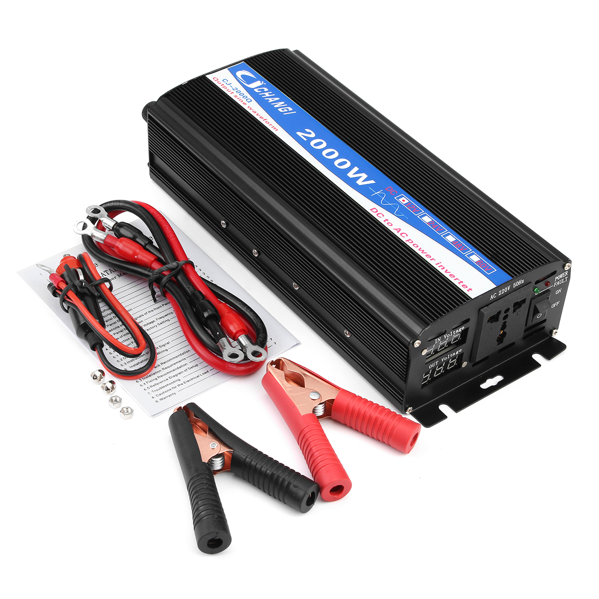 2000w Pure Sine Wave Inverter Led Power Invert 12v Dc To 220v Ac Circuit Diagram 2017 2018 Best Cars