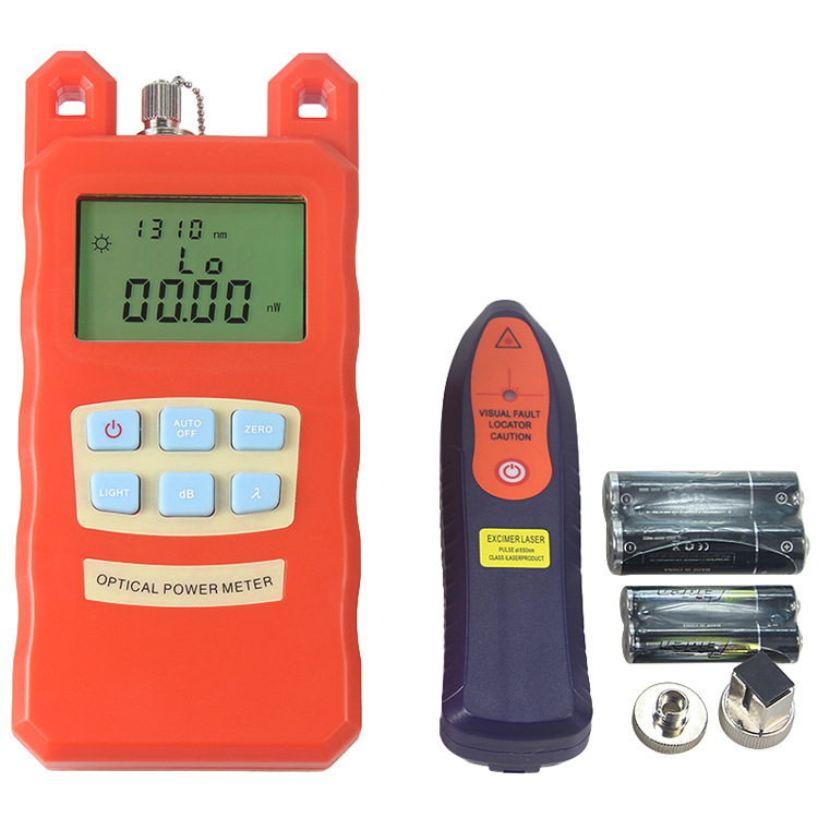 SKL-60S Optical Fiber Cold Junction Kit 22 Type Optical Fiber Cutter Mini Pen Optical Power Meter