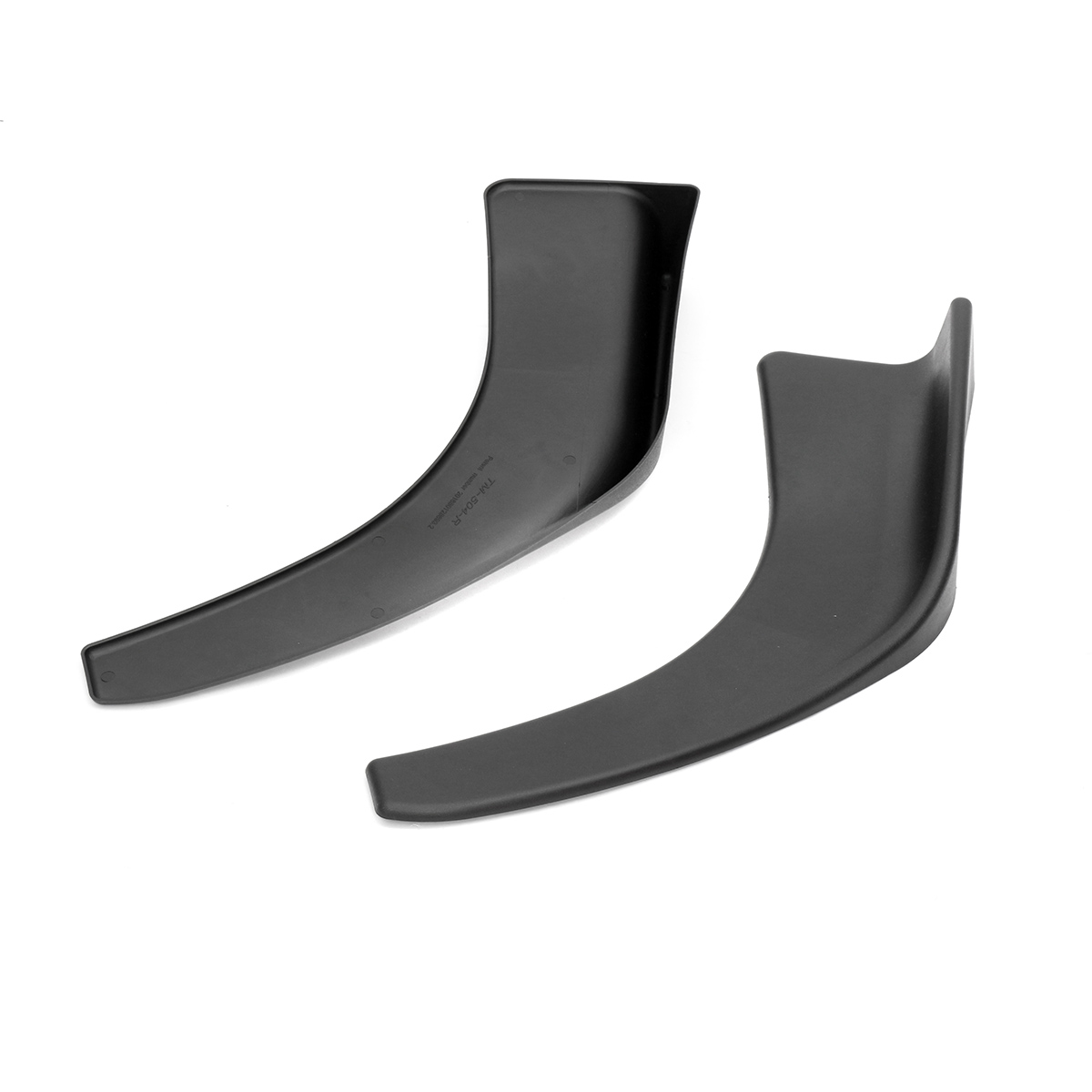One Pair Car Bumper Spoiler Front Shovel Decorative Scratch Resistant Wing