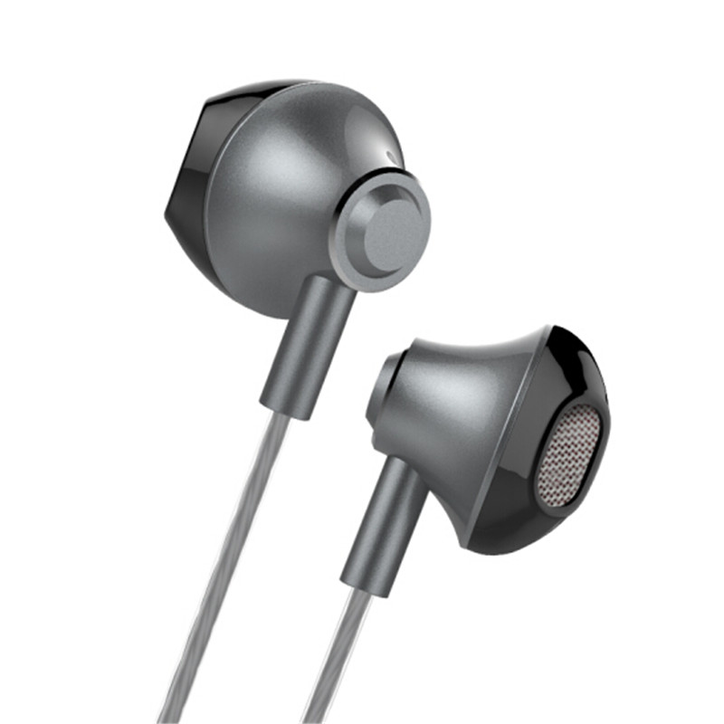 Langsdom F9 Metal Stereo Bass In-ear Earphone Headphone with Mic for Samsung S8 iPhone X Xiaomi
