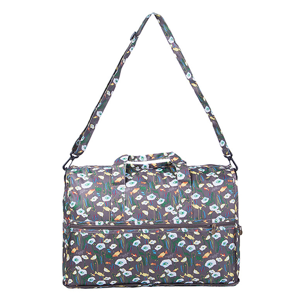 Outdoor Storage Bag Floral Design Portable Travel Bag Lady's Handbag Luggage Organizer