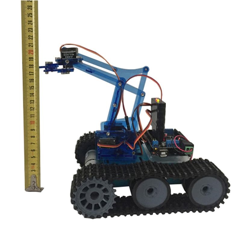 Mearm DIY Robot Tank Toys Chassis Kit With Ardunio Board PS Wireless Remote Control