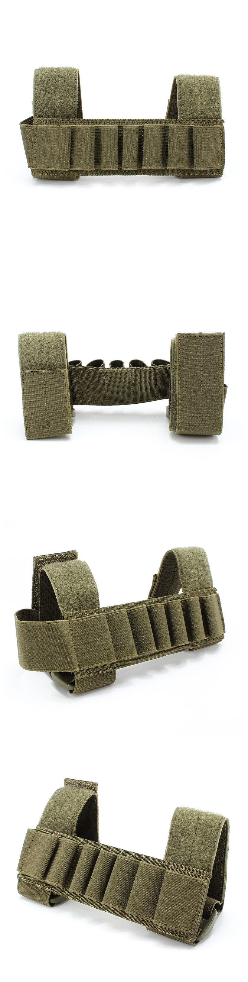 Outdoor 1000D Nylon Molle Tool Velcro Pouch Camping Hunting Accessaries Belt Strap Holder
