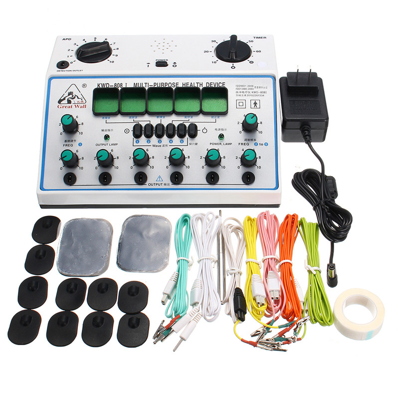 KWD808-I Electric Acupuncture Stimulator with 6 Channel