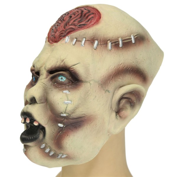Halloween Party Costume Mask Scaring Adult Head Horror Headgear Latex Rubber