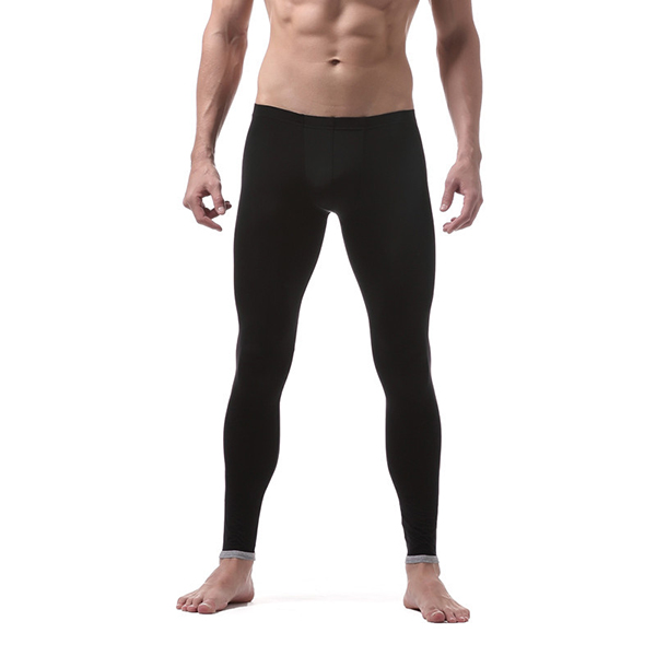 Ice Silk Long Johns Super Thin Translucent Thermal Underwear