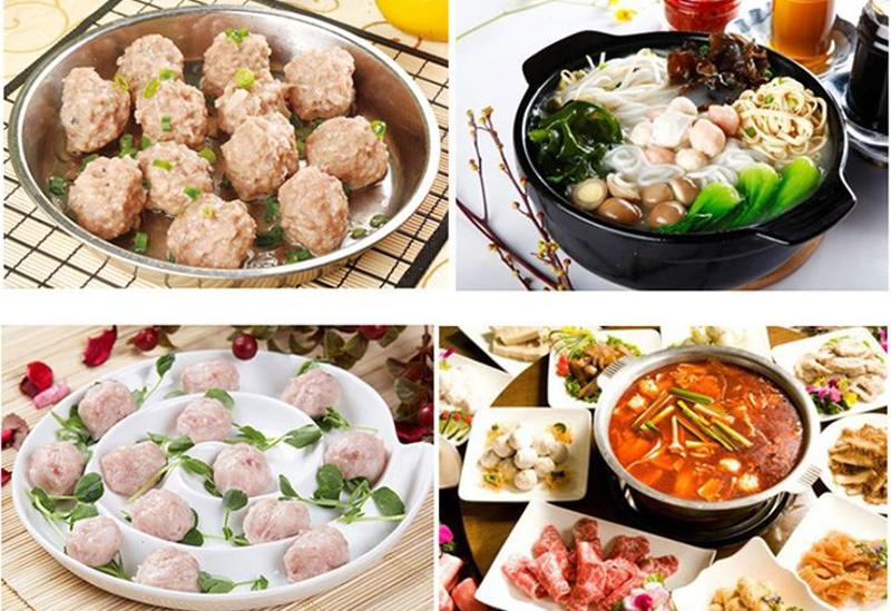 Meatballs Maker Hot Pot Balls Spoon Meat Food Processing Machine Mould Kitchen Gadgets Burger Press Hamburger Cooking Tool