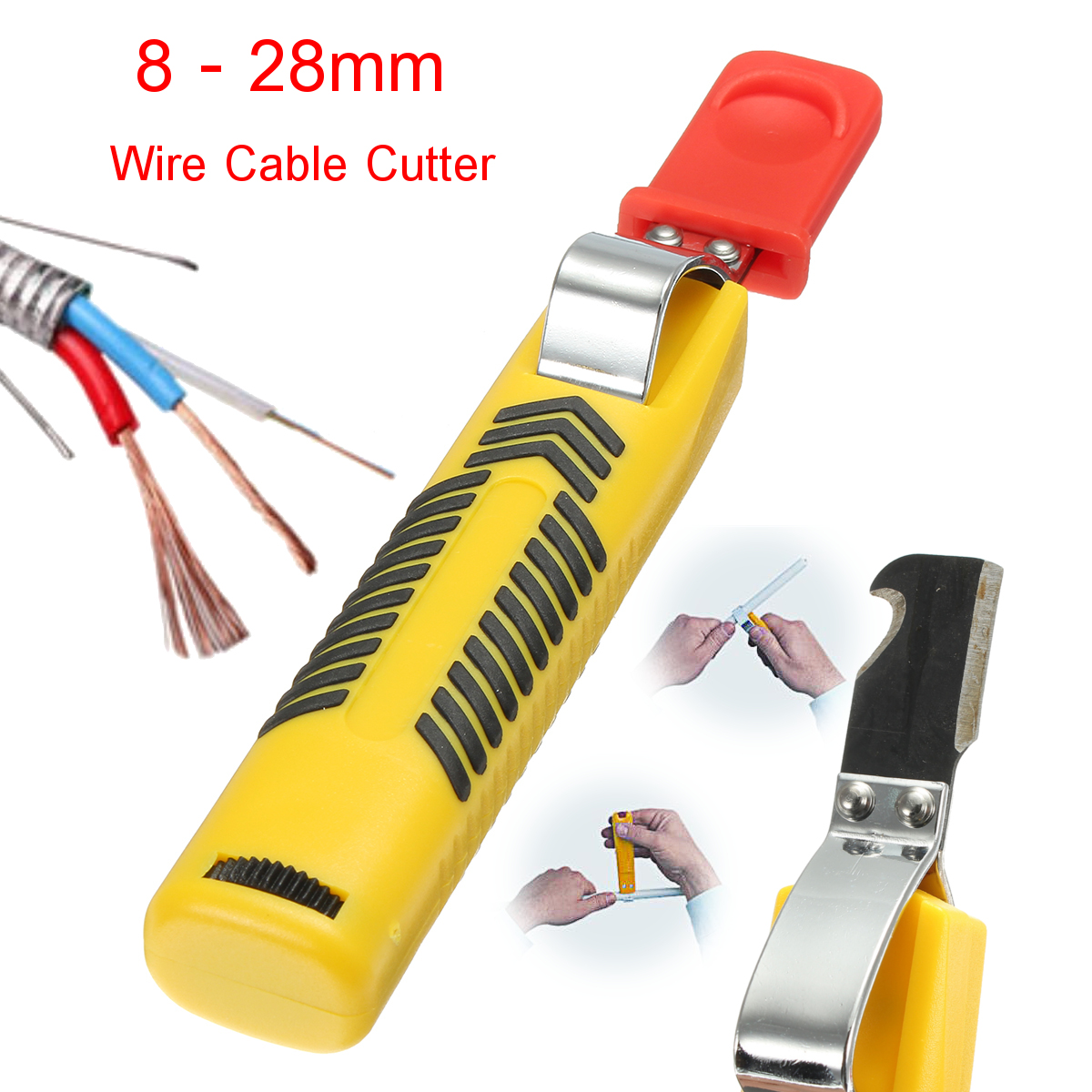 Secura Cable Knife Stripping Tool 8-28mm Cable Wire Stripper Stripping Cutter Hand Tool