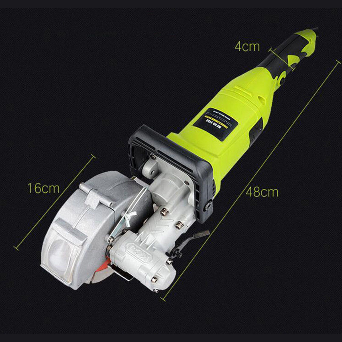 4KW 220V Electric Slotting Machine Wall Groove Grooving Cutting Machine Cutter