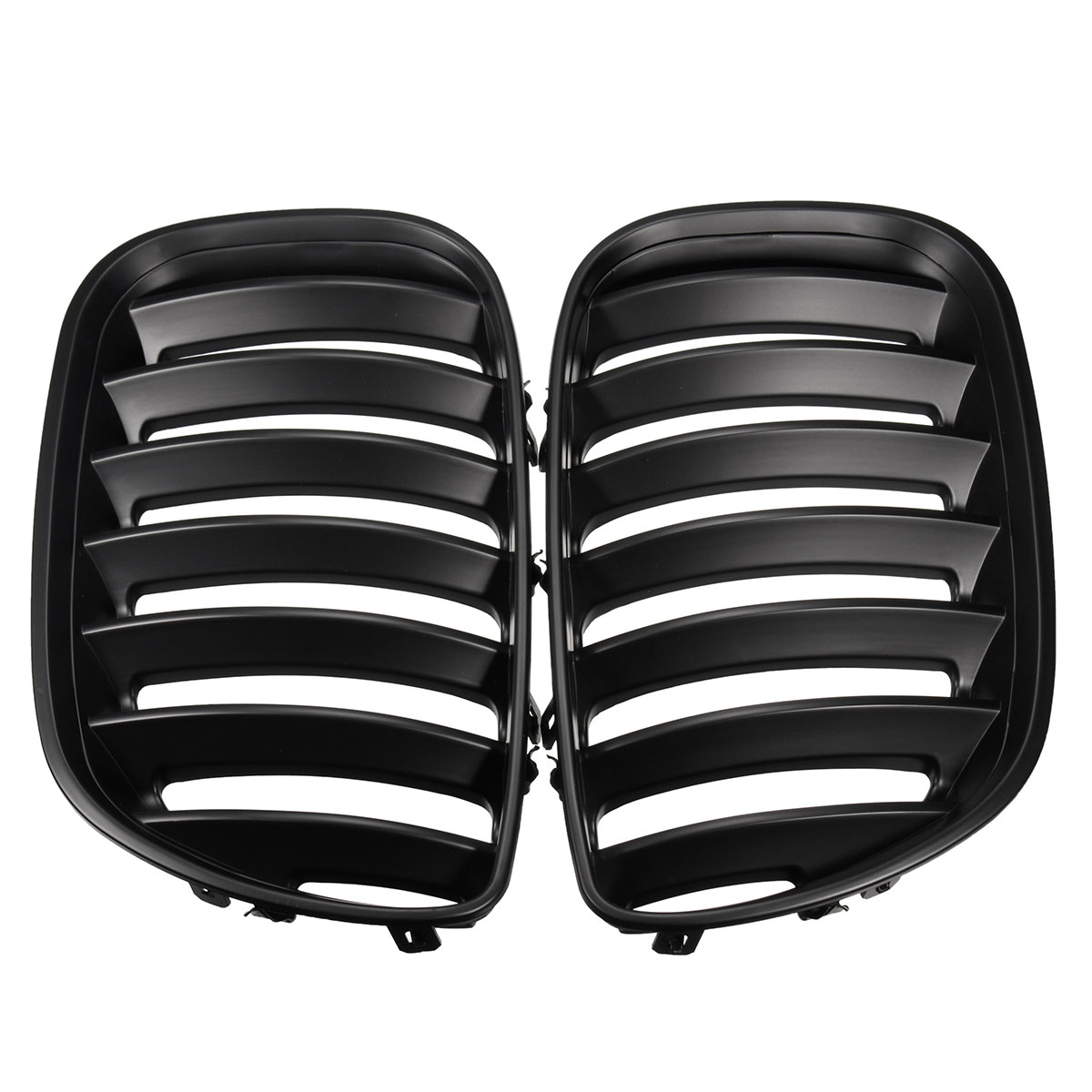 Pair Left And Right Front Hood Kidney Sport Grills Grille