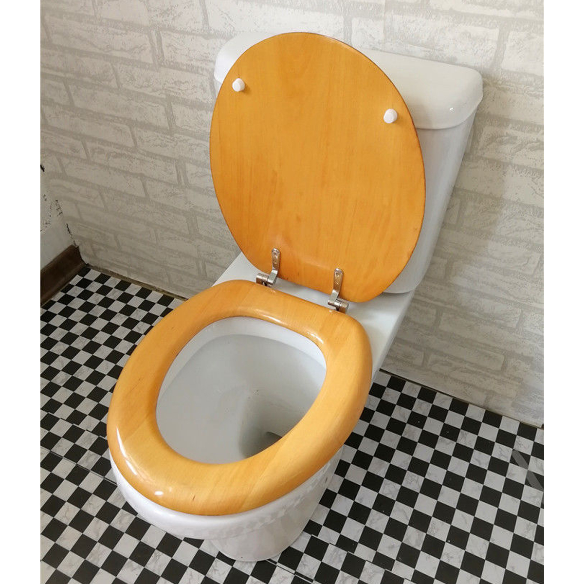 Cool New Toilet Seat Covers Round Wood Durable Lift Off Closed Cjindustries Chair Design For Home Cjindustriesco