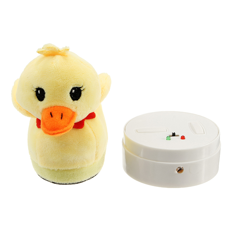 Infrared Remote Control Electric Simulation Plush Ducks RC Toy For Kids Children Birthday Gift